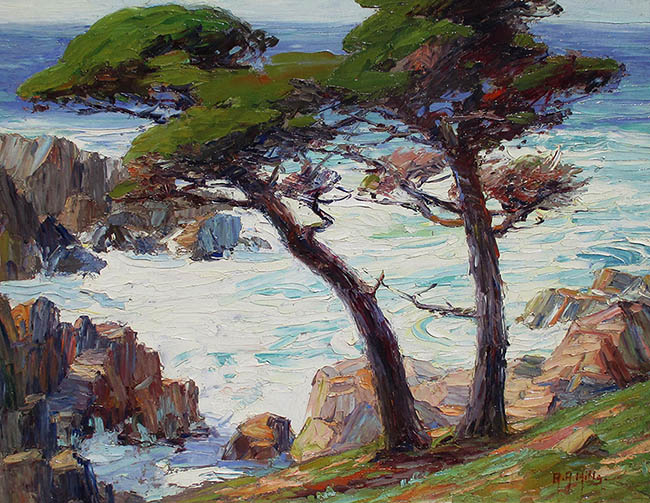 Anna Hills - Troubled Waters, Monterey